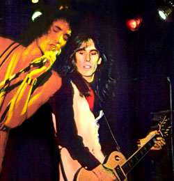 David Brighton and Kevin Dubrow on stage
