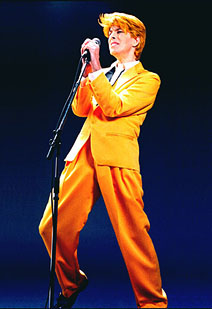 David Brighton as David Bowie