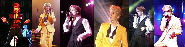 David Brighton as pop icon, David Bowie