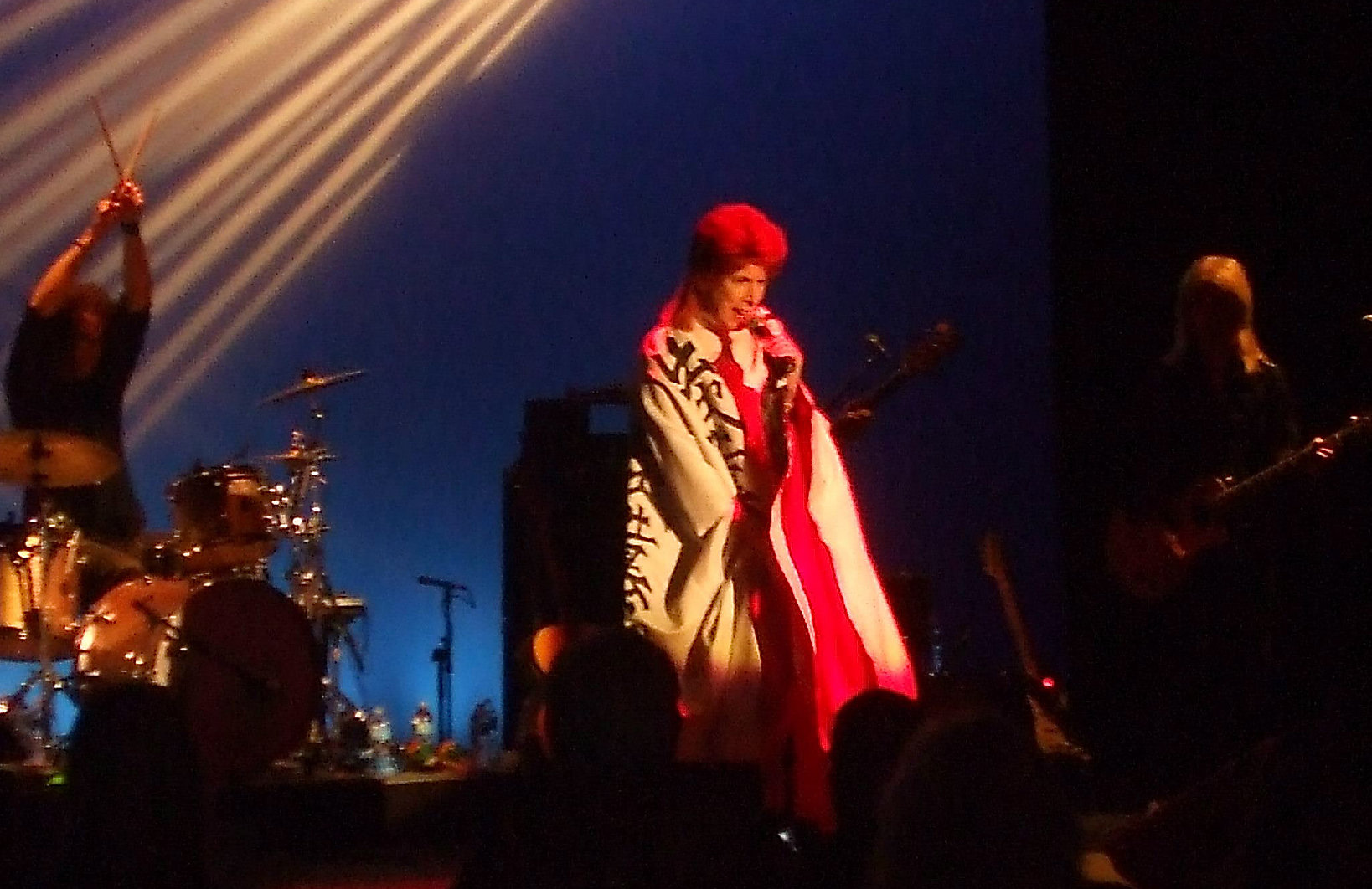 david brighton as david bowie cape