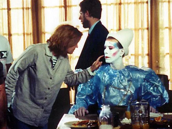 David Brighton as David Bowie in Vittel Television Commercial